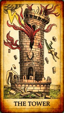 Dark Tarot deck