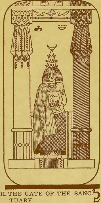 Egyptian Tarot Deck By Comte C. De Saint-Germain
