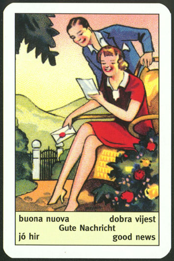Art Deco fortune telling cards 00 | The Unified Esoteric Tarot