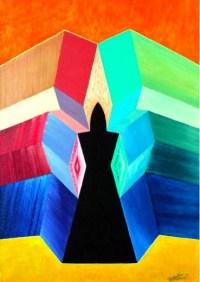 Michaël Bellon's Tarot 5 Hierophant