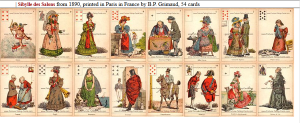 Gypsy Fortuneteller Cards