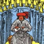 Tarot Rider-Waite 76 9 of Cups