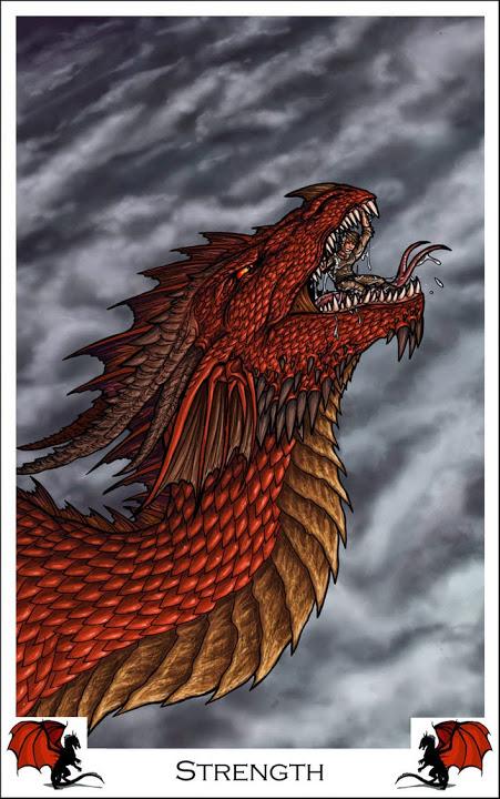 Dragon Tarot by Alecan