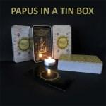 Papus in a tin box