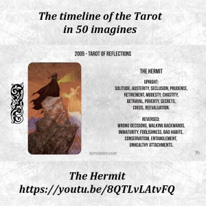 Tarot timeline in 50 imagines, video 09 The Hermit | The