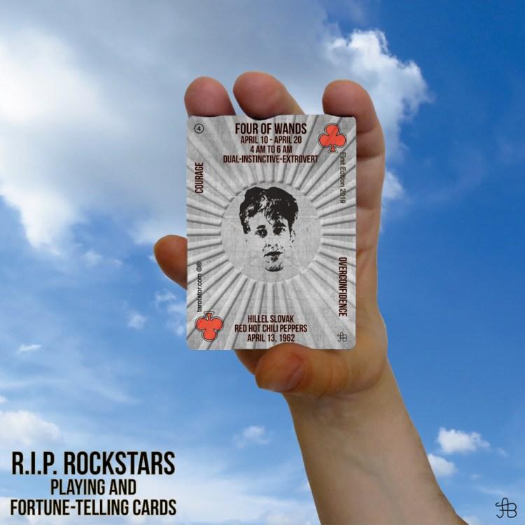 RIP Rockstars Four of Wands Hillel Slovak