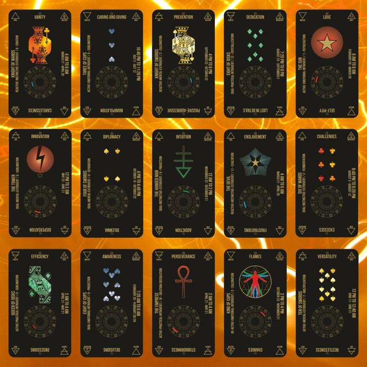Aquarian Hermetic Tarot Black Edition 2020