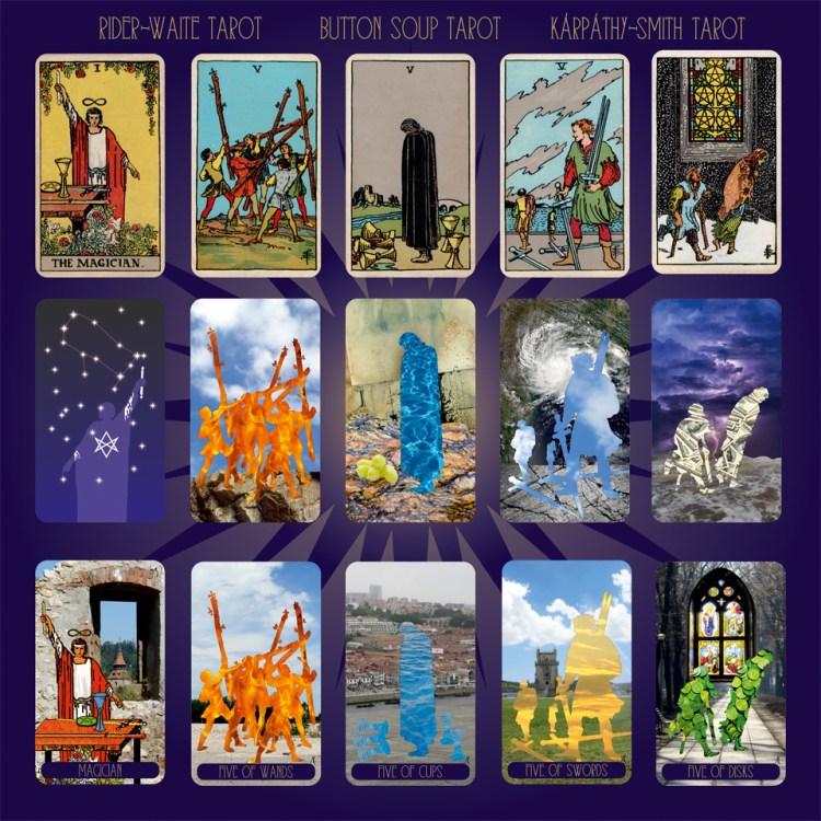The Karpathy-Smith Tarot deck 2020