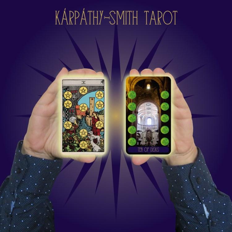Karpathy-Smith Tarot Ten of Disks