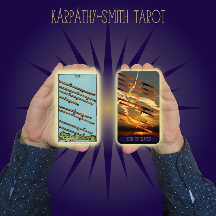 Karpathy-Smith Tarot Eight of Wands