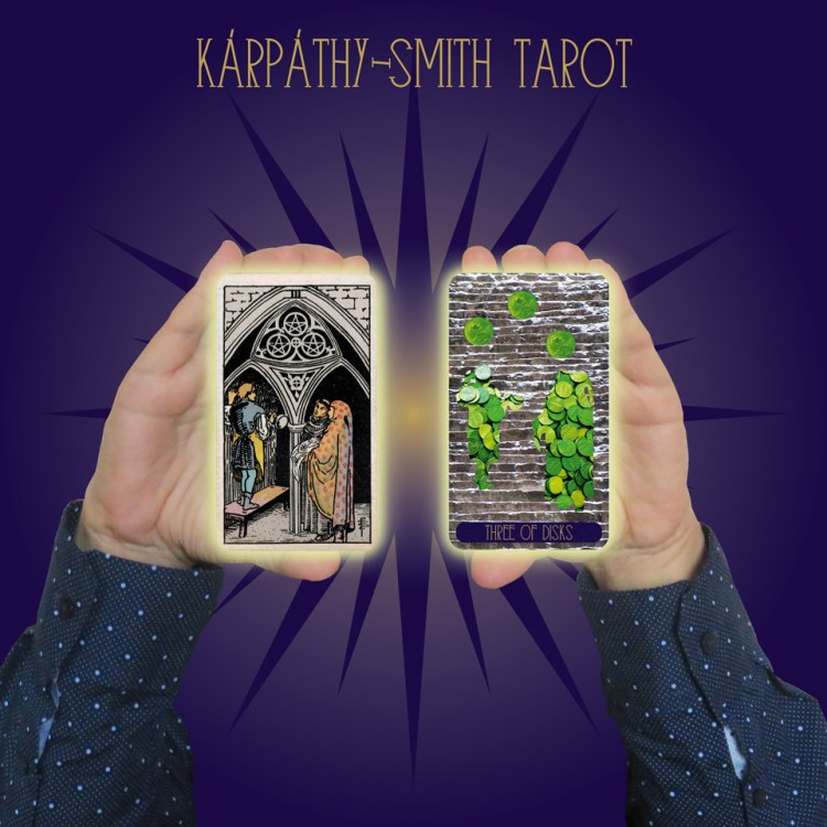 Karpathy-Smith Tarot Three of Disks
