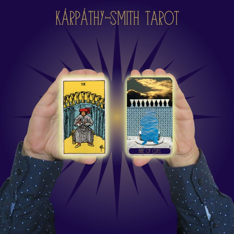 Karpathy-Smith Tarot Nine of Cups