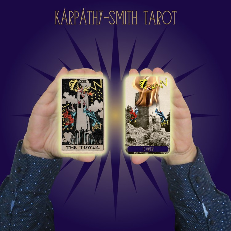 Karpathy-Smith Tarot The Tower