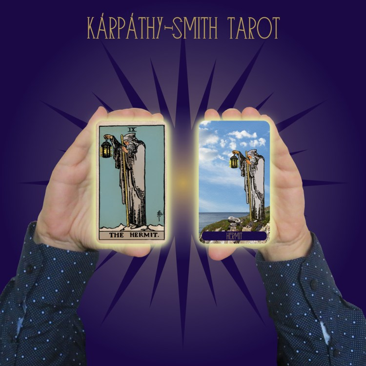 Karpathy-Smith Tarot Hermit