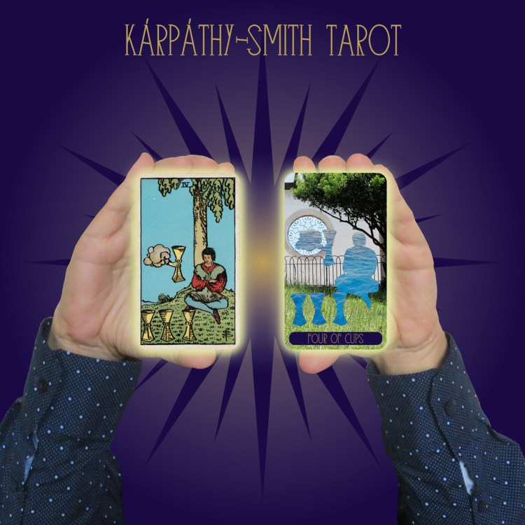 Karpathy-Smith Tarot Four of Cups