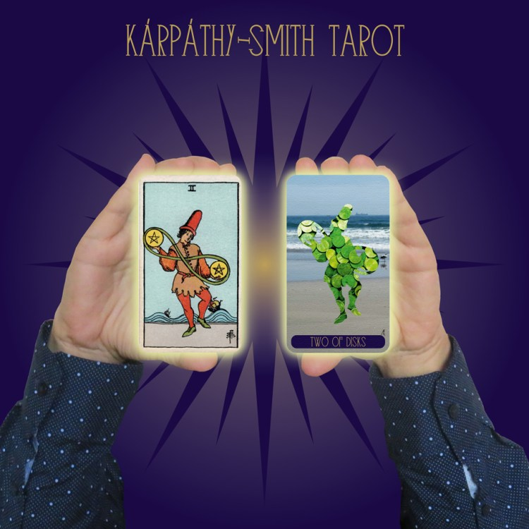 Karpathy-Smith Tarot Two of Disks