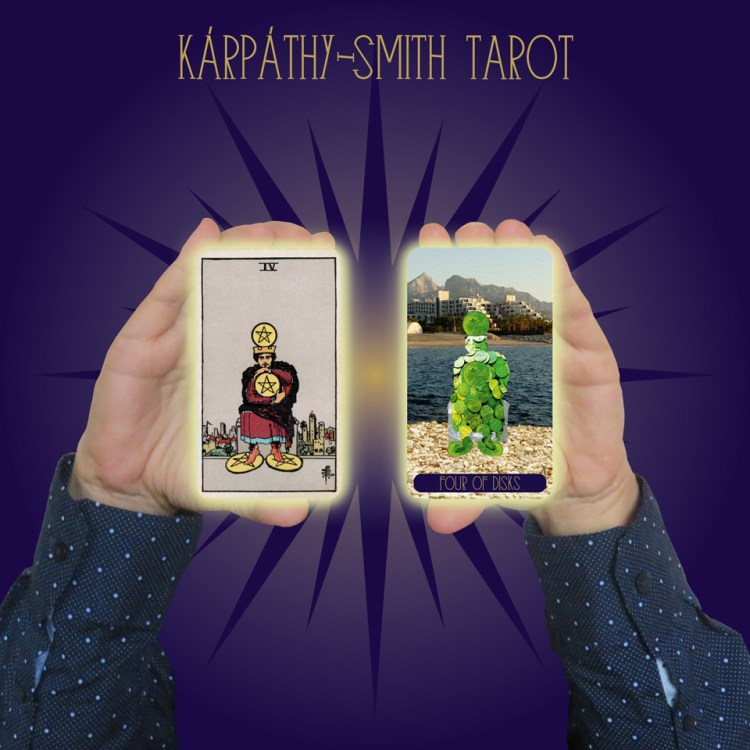 Karpathy-Smith Tarot Four of Disks