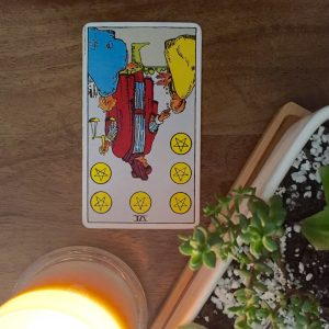 6 of Pentacles - Rider Waite