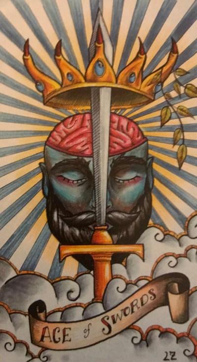 Ace of Swords « Tarot by Cecelia