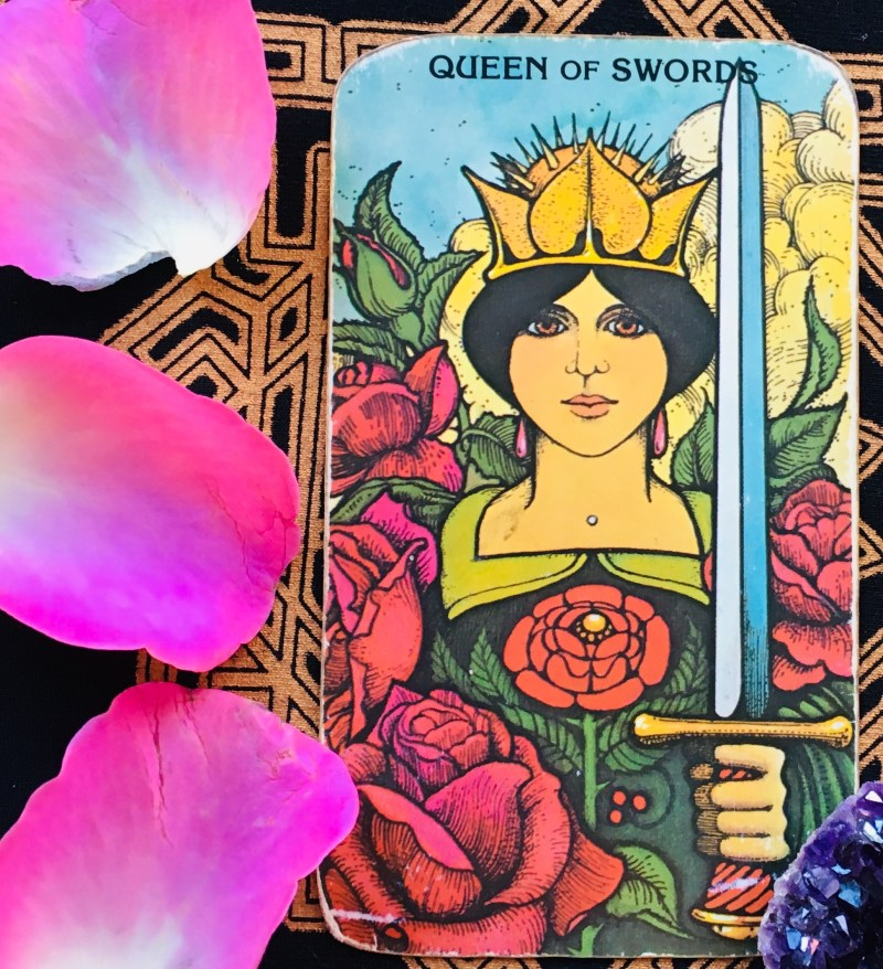 Queen of Swords and intuitive wisdom