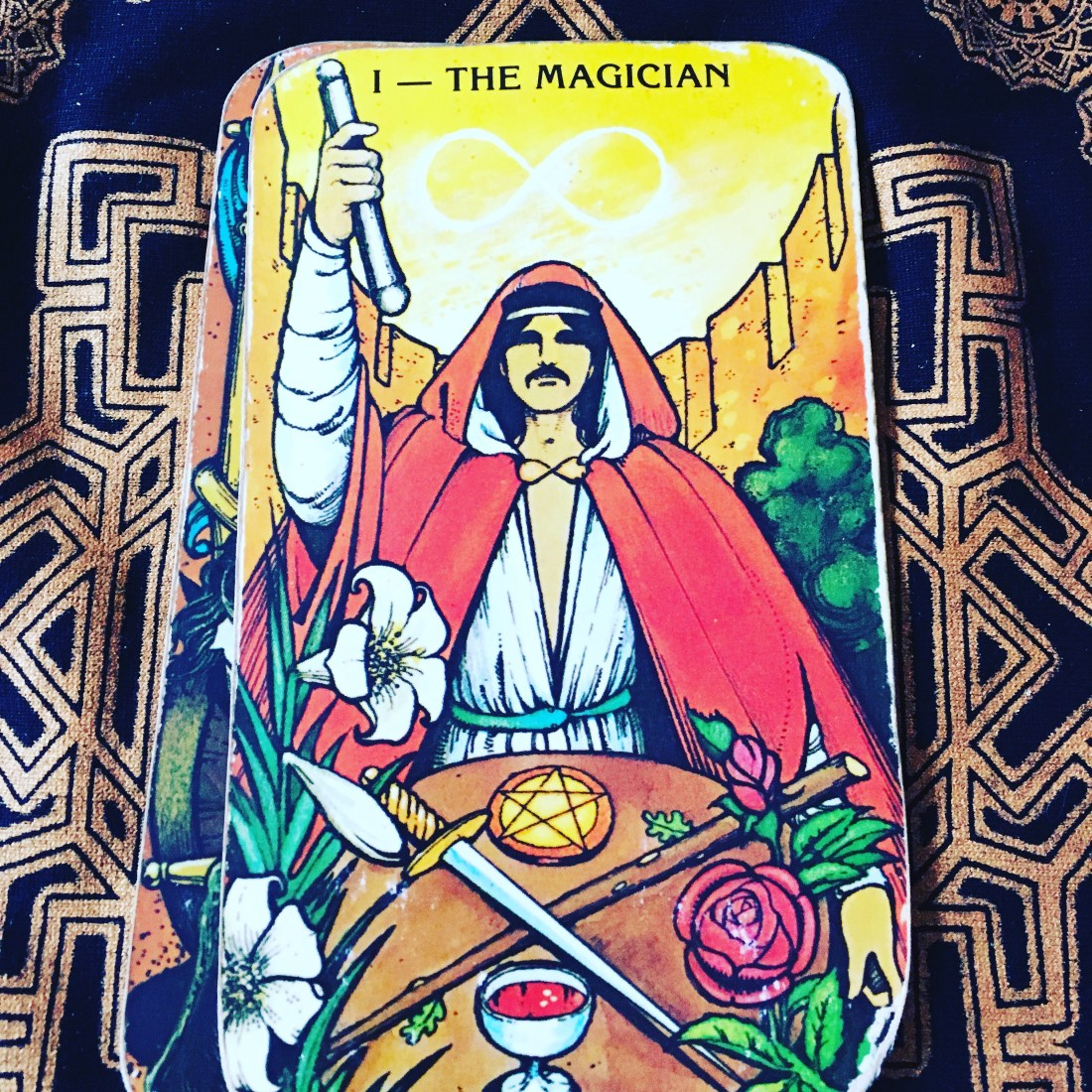 Tarot Card, The Magician, Major Arcana