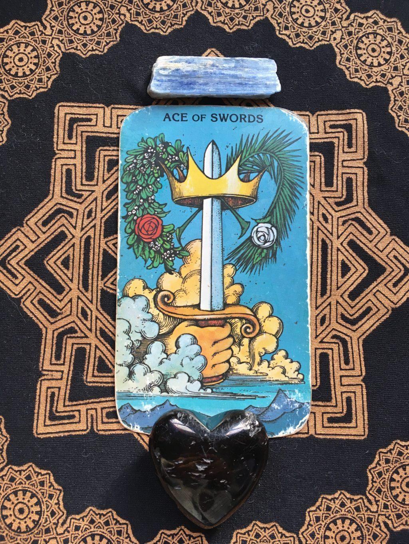 the ace of swords tarot card, wisdom