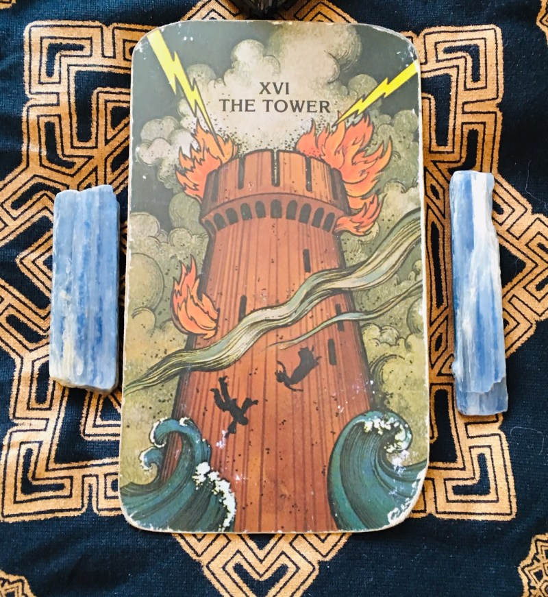 The Tower, Tarot card
