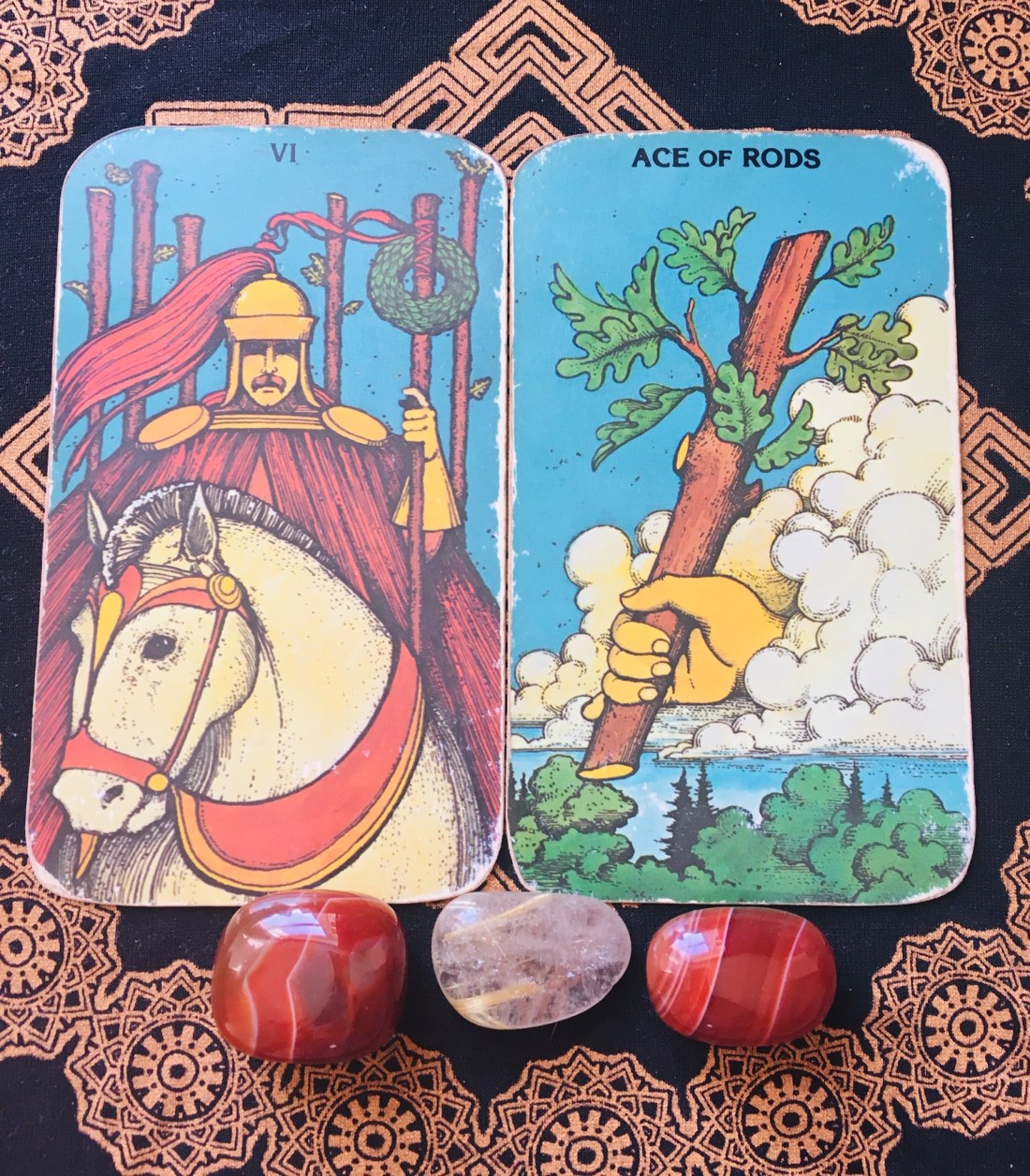 tarot cards for opening up