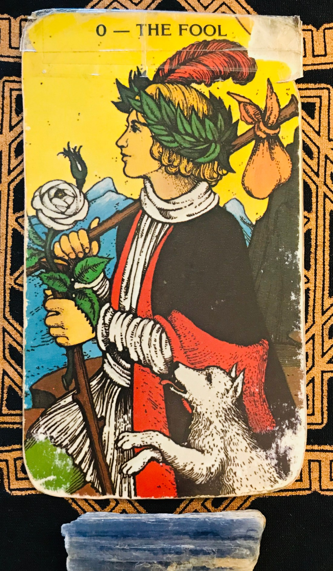 The Fool Tarot card is about making a new start in our life.