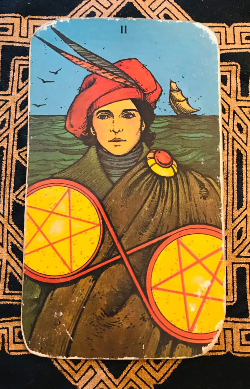balancing change. Tarot card of the week for January 18th 2021