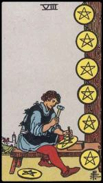 8 of pentacles - January 2015 Forecast