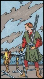5 of swords - May 2015 Tarotscope