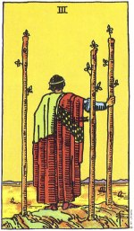 3 of wands - May 2015 Tarotscope