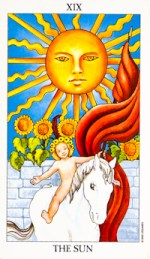 the sun - July 2015 Tarotscope