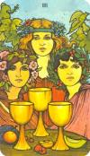 3 of cups1 - September Wellness Tarotscope