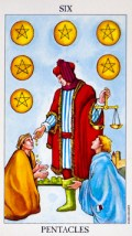 6 of pentacles - February 2016 Tarotscope