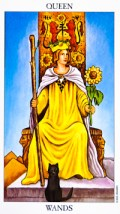 queen of wands - February 2016 Tarotscope