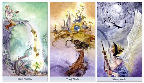 grow model tarot spread - goals
