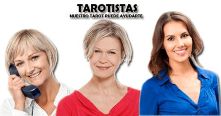 tres mujeres tarotistas