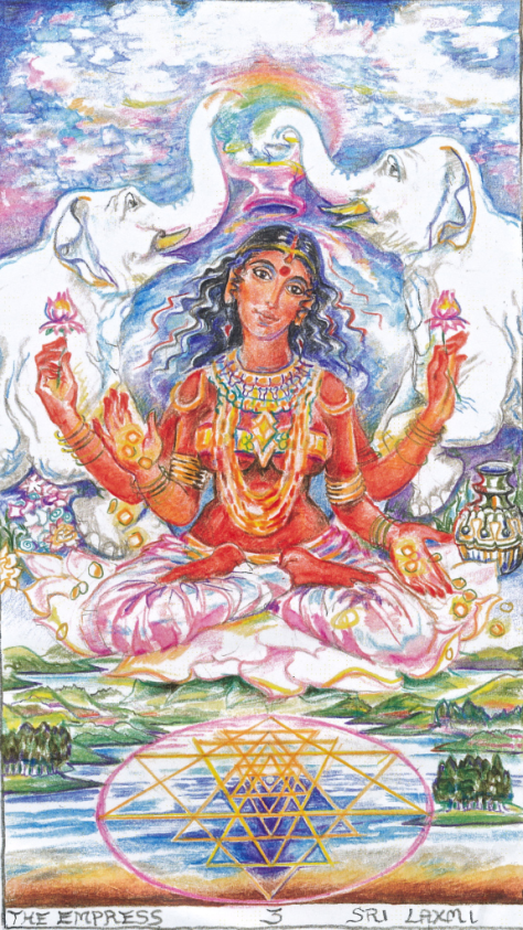 Empress - Sacred India Tarot