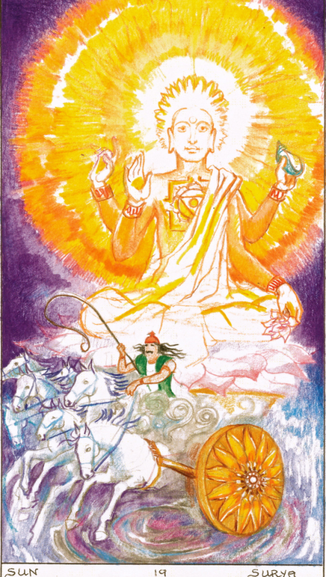 Sun - Sacred India Tarot