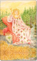 Image of The Empress card