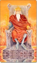 Image of The Emperor card