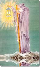 Image of The Hermit card