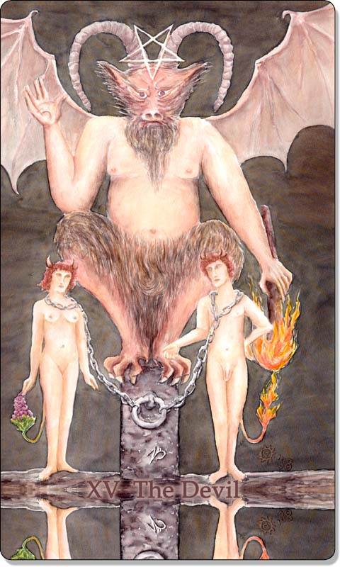 Image of The Devil card