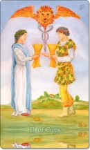 Image of The Two of Cups card