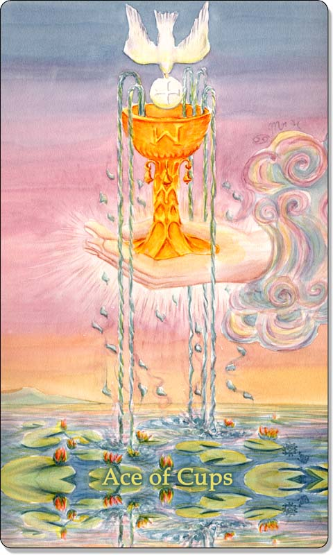 Image of The Ace of Cups card