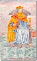 Image of The King of Cups card