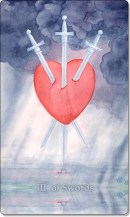 Image of The Three of Swords card