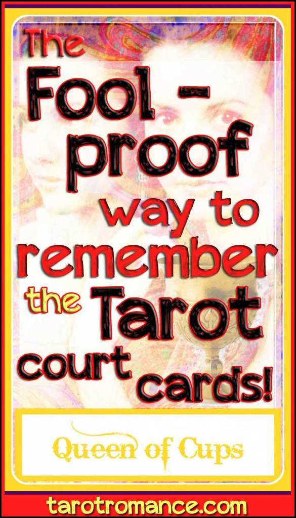The Fool-proof way to remember the Tarot court cards